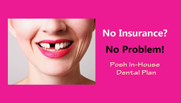 In-house dental plan for patients without dental insurance in Chandler, AZ.