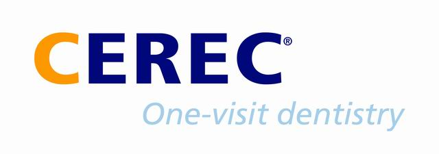 Logo of CEREC same day crowns, as offered by dentist in Chandler, AZ.